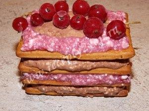 Пирожные из печенья без выпечки фото 7