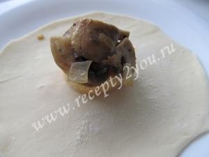 Пирожки с грибами и сыром фото 8
