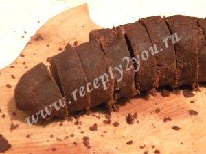 Шоколадное печенье с кремом фото 9