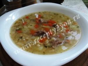 Суп с фасолью и мясом фото 12