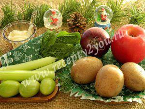 Простой салат на Новый год фото 1