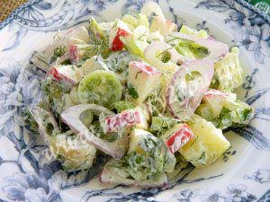 Простой салат на Новый год фото 7
