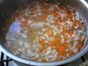 Суп с фасолью и мясом фото 8