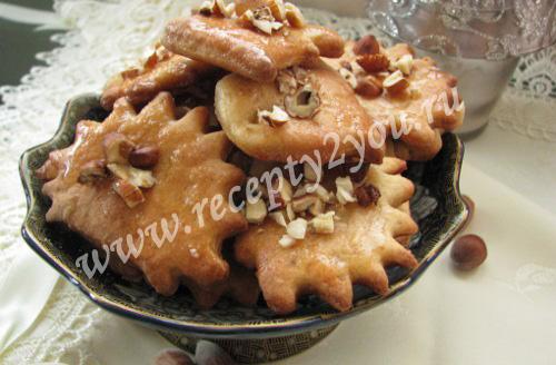 Рождественское печенье меломакарона
