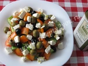 Салат с сыром фета фото 10