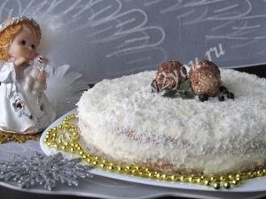 Торт Зимняя сказка фото 14