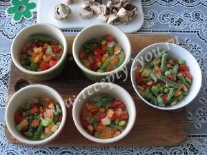 Омлет с овощами в духовке фото 4