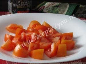 Салат с сыром фета фото 6