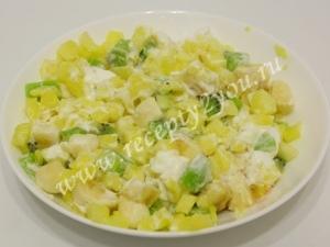 Фруктовый салат в ананасе фото 7