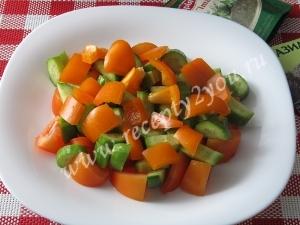 Салат с сыром фета фото 7