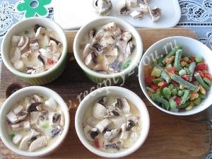 Омлет с овощами в духовке фото 6