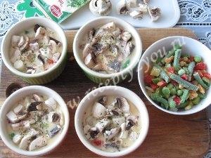 Омлет с овощами в духовке фото 7