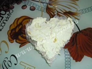 Закуска ко Дню Влюбленных - сердечки с красной икрой фото 8