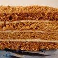 Вкусный медовый торт