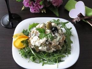 Салат с кальмарами и авокадо фото 11