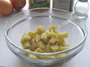 Салат с селедкой и картофелем фото 3