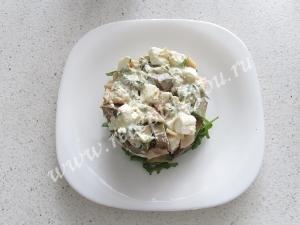 Салат с кальмарами и авокадо фото 9