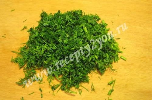 Салат из салатных листьев с огурцом фото 3