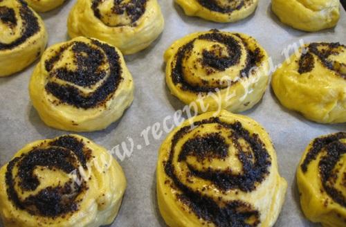 Домашние булочки с маком фото 17