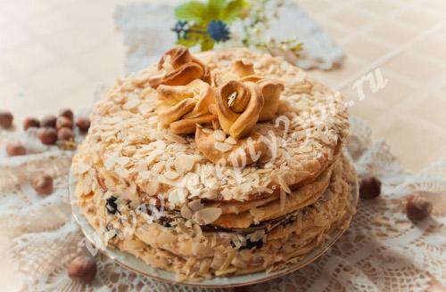 Домашний торт Наполеон фото 18