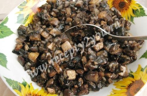 Блины с грибами фото 2