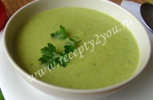 Суп-крем из зеленого горошка фото 7