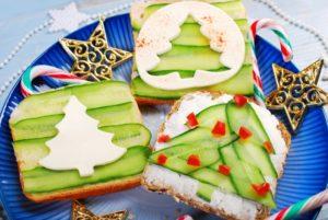 Бутерброды новогодние