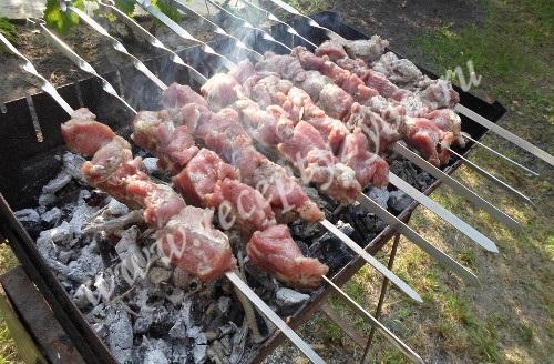 Шашлык из свинины фото 7