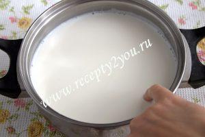 проверяем готовность молока