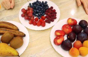Ягоды и фрукты для пастилы
