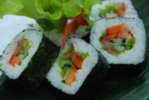 Овощные суши